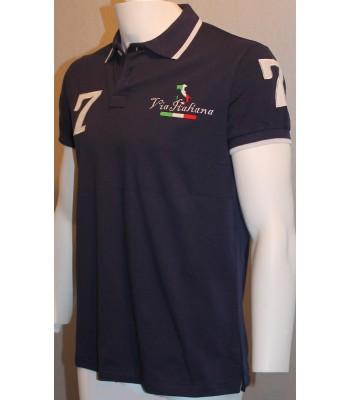 Piké tröja Via Italiana (standard)